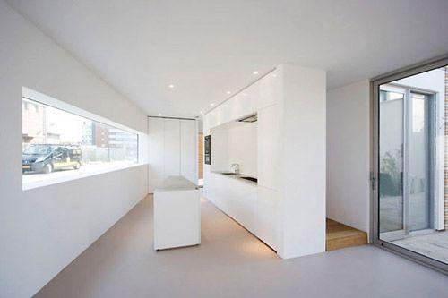 穿梭于空中天桥 荷兰独栋别墅室内设计欣赏