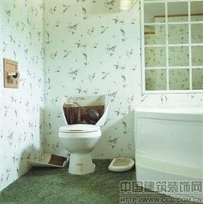 可做屏风改善;厕所马桶不可暗冲灶