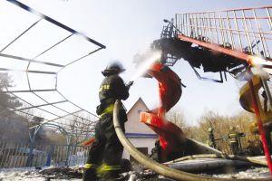 长春儿童公园游戏法度样板起火无人伤亡