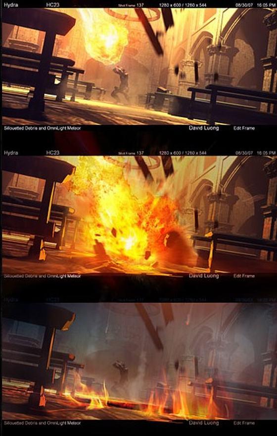 《暗黑破坏神3》游戏原画(三)