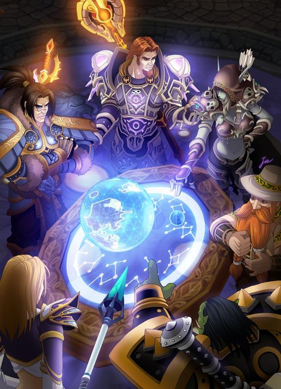 《魔兽世界》玩家手绘(二)