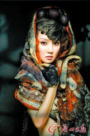 模特苏蕾生活照
