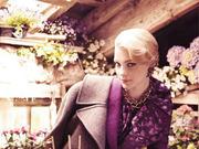 杰西卡-史丹:Bazaar美国版年9月号时尚大片(组图)