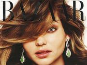 《Harper's Bazaar》澳大利亚版杂志米兰达-可儿系列