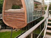 为享受私人空间而GETAWAY 德国树屋设计