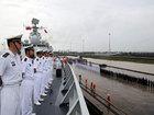 第五批护航编队首访缅甸