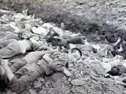 朝鲜战争中绝密照片:韩国大规模处决亲北民众