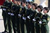 首长们很给力啊!----武警驻京部队首长机关队列会操[高清大图]