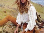 巴西名模吉赛尔助阵法国《Vogue》