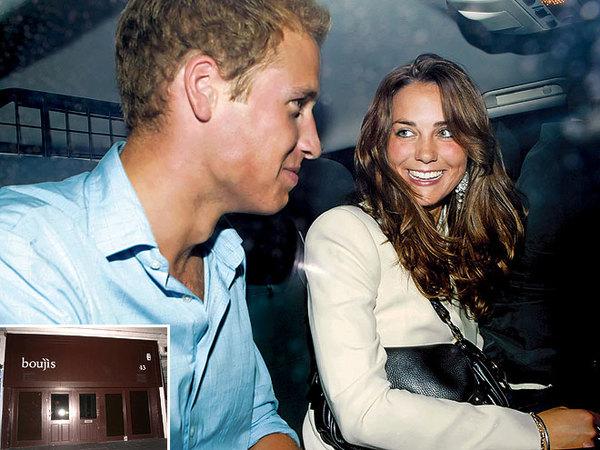 组图:威廉王子与凯特一路走来的爱情点滴