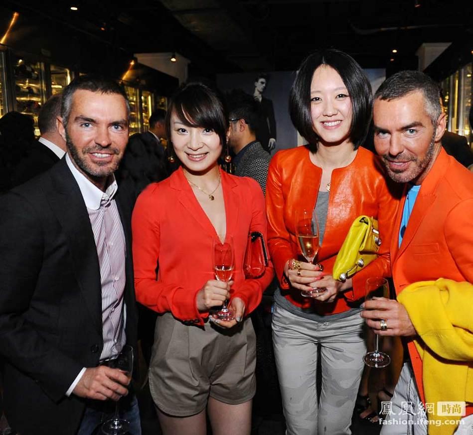 高清:Dsquared2设计师首次上海之旅
