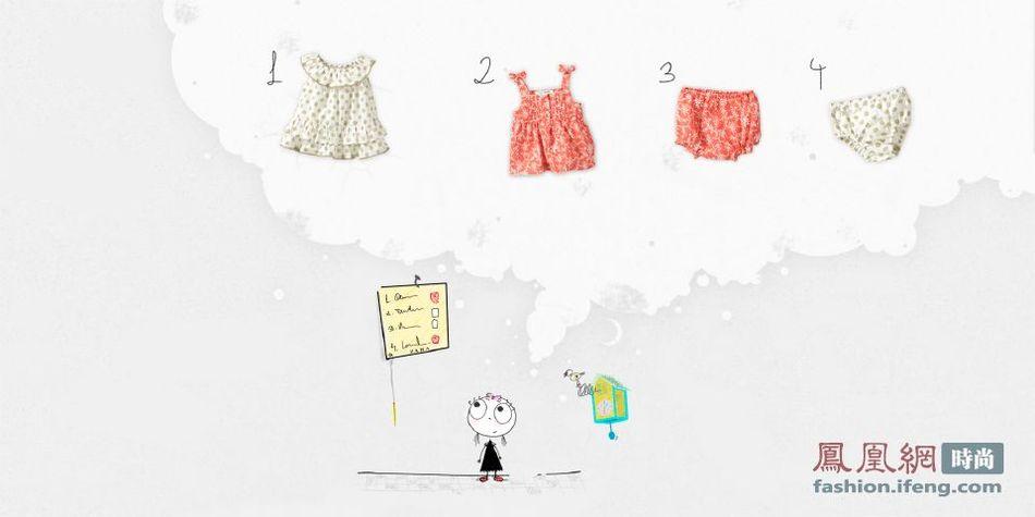 Zara4月Baby系列LookBook