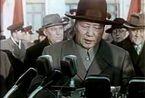 1957年毛泽东第二次访问苏联:在机场发表讲话