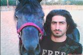 儿子Omar, 2007,沙特。他已经是时尚界知名人物