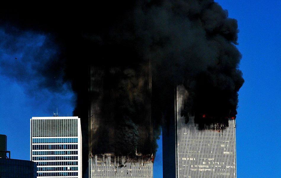 """美国""""911""""事件现场回顾"""