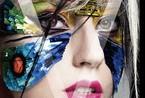 Lady Gaga搞怪依旧 三头身登亚洲封面