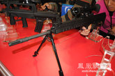 此次展会上亮相的88式5.56毫米狙击步枪