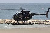 5月28日,西班牙海军的MD-500直升机进行表演。