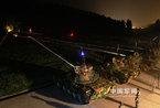 成都军区某训练基地夜间训练:主战坦克实弹射击