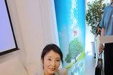 [读书会第50期组图]严歌苓在凤凰网读书会现场