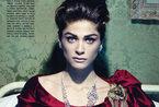意大利超模伊丽莎-瑟娜薇登Vogue华美珠宝大片赏