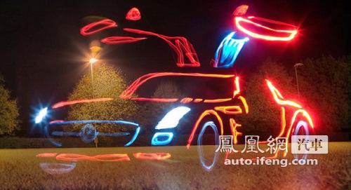奔驰超级跑车sls amg高清图片