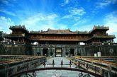 越南顺化皇城午门。