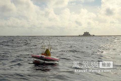 实拍被越南占领南海群岛之鬼喊礁