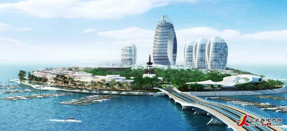"""沿海城市大肆填海建房 三亚欲造""""中国迪拜"""""""