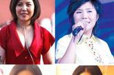 纪敏佳在微博上传了一张自拍照。照片上的她长发、大眼、挺鼻、小脸、尖下巴,和当初参加快女比赛时胖胖的模样截然不同。这张照片随后被网友广泛转载,并纷纷将其出道时的照片拼图对比。