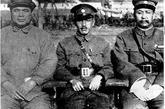 冯玉祥,蒋介石和阎锡山的合影。