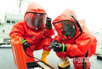 中国首支海上核生化应急救援队已具实战能力