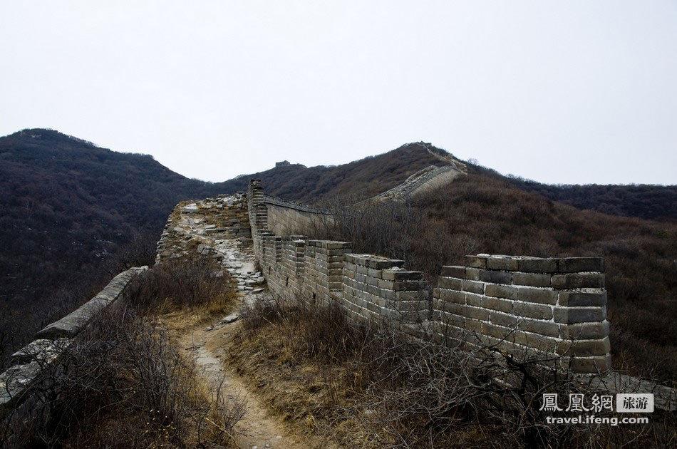 《蝶恋花—隆冬徒步残长城》 - 不知有汉 - 不知有汉
