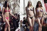 黎巴嫩海滩美女秀比基尼
