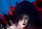 范冰冰化身红艳虞姬 水中缠绵拍摄性感写真