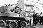 被缴获的BT-7A坦克