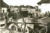 被击毁的BT-7A坦克