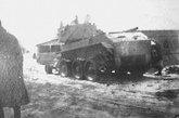 被击毁的BT-7坦克