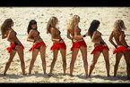 莫斯科沙滩女孩 花样比基尼激情热舞