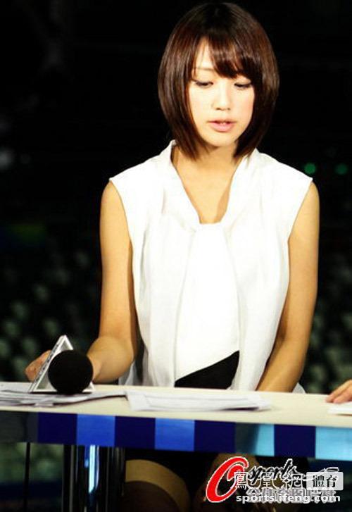上海世游赛日本美女主播惊艳赛场高清大图