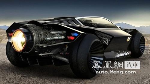 科幻电影中的未来汽车盘点