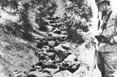 惨绝人寰的南京大屠杀。