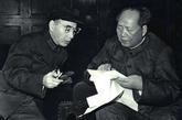 文革时的林彪与毛泽东。