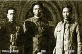 林彪、张浩、毛泽东。