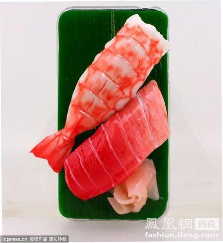 iPhone 寿司外壳让你口水流不停!
