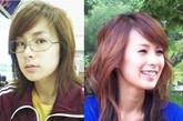 蔡妍美眉算是韩国整形界的第一女艺人,不仅脸上动刀而且身体上也动刀,看来想当艺人的代价还真是惨重。 整形部位:鼻子 点评:很多艺人在选择整形的时候鼻子都会作为第一考虑,因为鼻子会使你脸部的轮廓看起来更加的立体,可以拉伸脸部的视觉效果,已达到眼眶缩小的效果。