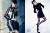 澳大利亚版Vogue九月时装大片由超模Katie Fogarty演绎。多样的蕾丝花色尤使此次大片的夜色主题妩媚异常。