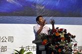 纪连海老师在大讲堂大庆站的活动现场进行精彩的演讲