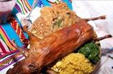 当我去秘鲁时,一个当地朋友首先向我推荐这道美食。当细细的肉丝消失在嘴巴里时,发现这道秘鲁名菜果然名不虚传。