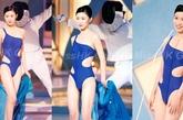 到了佘诗曼这届,和之前港姐造型PK佘诗曼绝对是冠军,泳装的设计感为她带来不少魅力,展现出来的造型也不仅限于性感。
